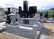 松本地区に多い地上納骨堂式のお墓のサムネイル